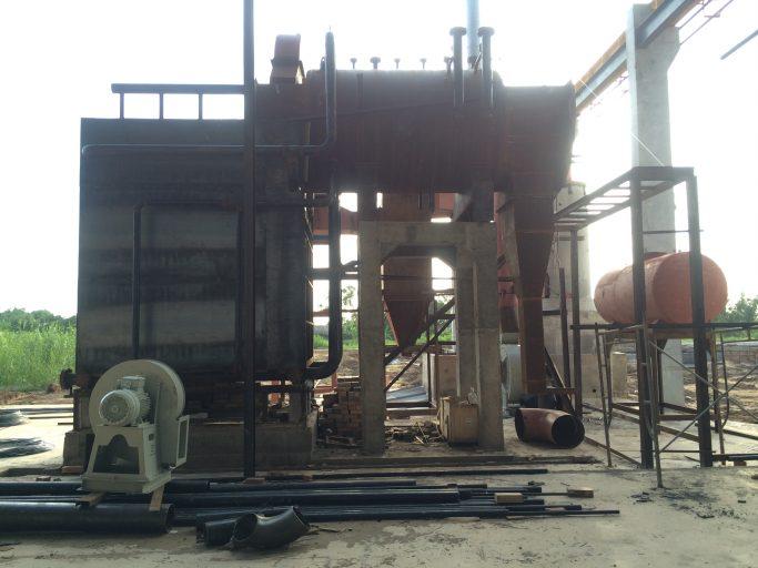 Lắp đặt lò hơi đốt củi đạt chuẩn môi trường